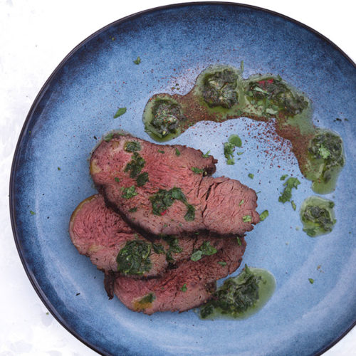 Tenderloin With Chimichurri