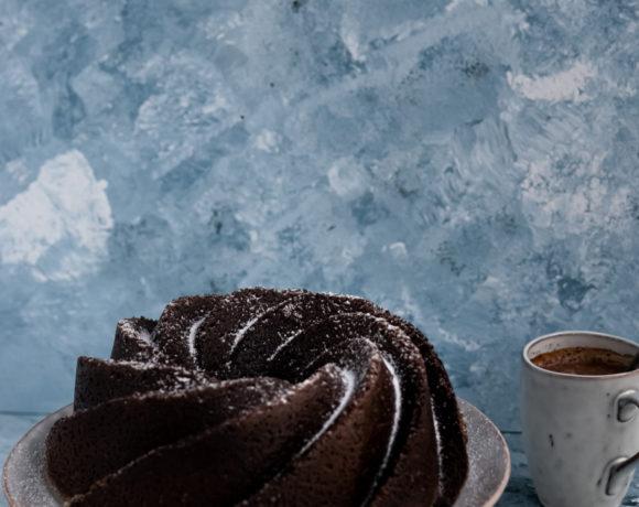 Chocolate beer bundt cake